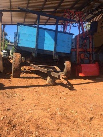 Carretinha 4 pneus  - Foto 5