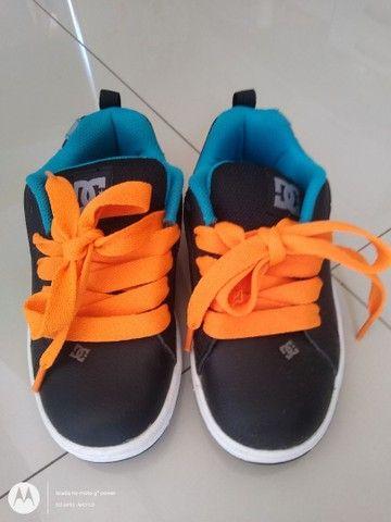 Tênis DC Shoes infantil - Foto 2