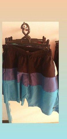 Shorts mauricinho impermeável - Foto 3