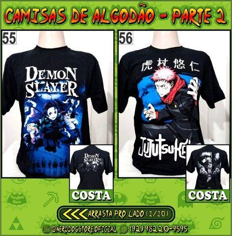 Camisas Geek Nerd Gamer Otaku - NerdDog Store - Naruto, Dragonball, One Piece, etc
