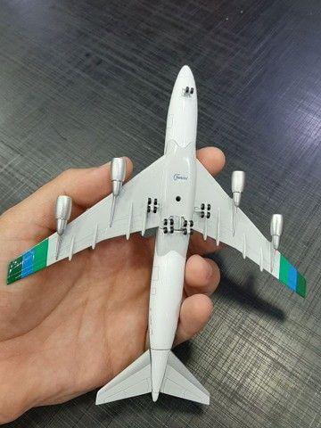 Miniatura de avião B.747-400 Transamerica  Escala 1.400 Gemini Jets - Foto 5