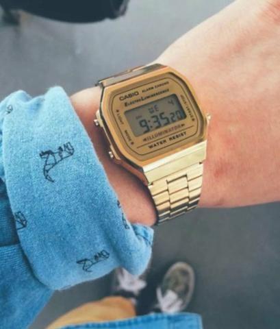 1b49c575ba8 Relógio Casio Vintage - Bijouterias