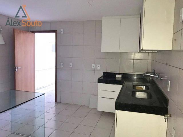 Apartamento com 3 dormitórios à venda, 126 m² por r$ 680.000 - jatiúca - maceió/al - Foto 16