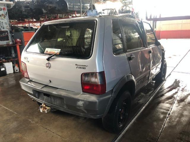 Peças usadas Fiat Uno Way 2012 2012 1.0 8v flex 66cv câmbio manual