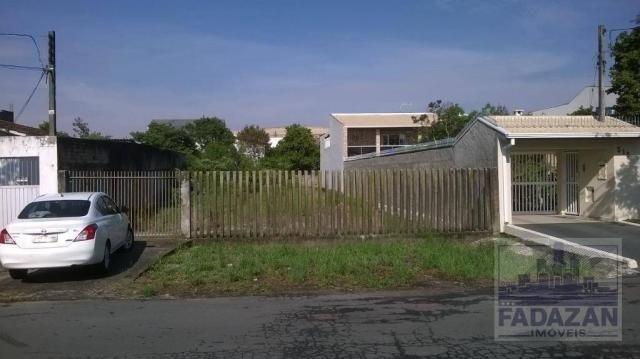 Terreno à venda, 516 m² por R$ 590.000,00 - Boqueirão - Curitiba/PR