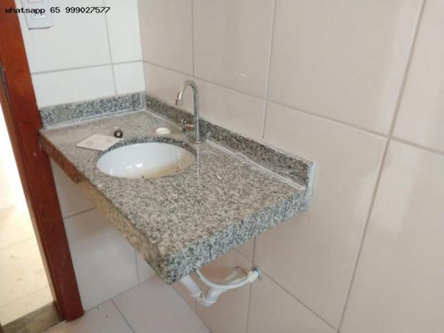 Casa para venda em várzea grande, santa isabel, 2 dormitórios, 1 banheiro, 2 vagas - Foto 2