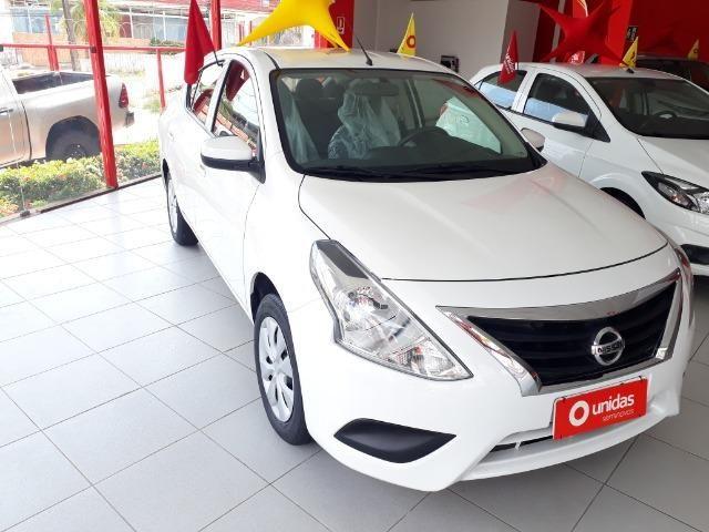 Oferta com Bônus de Ipva 2020 - Nissan Versa Conforto 1.0 2018 - Financiamos em até 60X - Foto 4