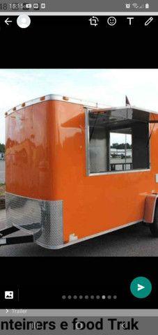 Trailer, food truck, quiosque, container