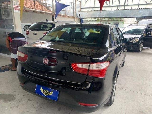 Fiat grand siena tetra ex taxi 2014, aprovação imediata, s/ comprovação de renda!!!! - Foto 2
