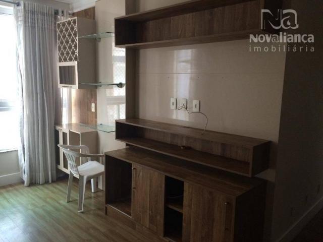 Apartamento com 3 quartos para alugar, 85 m² por R$ 1.500/mês - Itapuã - Vila Velha/ES - Foto 6