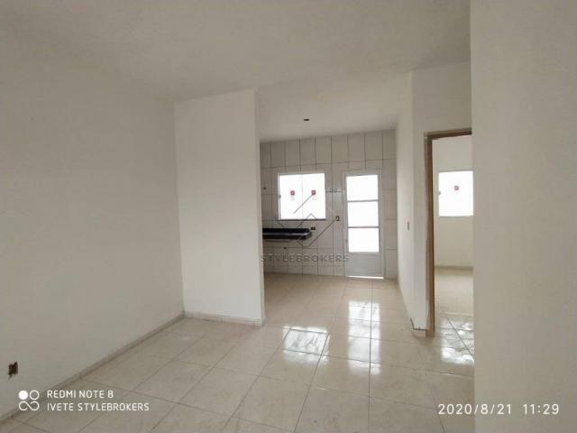 Casa com 2 dormitórios à venda, 52 m² por R$ 159.000 - Altos da Glória - Várzea Grande/MT - Foto 4