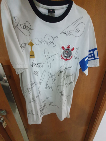Camisa do Corinthians autografada  - Foto 2