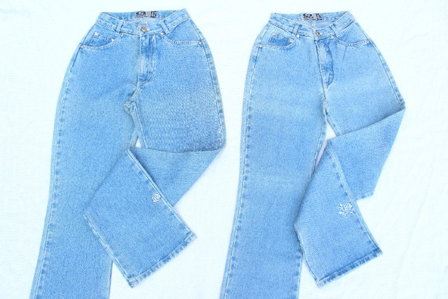 Lote Mom Jeans Vintage CGC Calças e Shorts 15 Peças