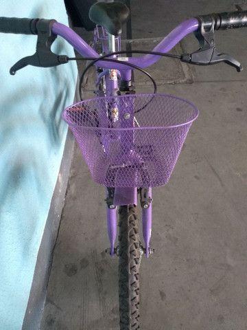 Bicicleta infantil princesa Sophia - Foto 6