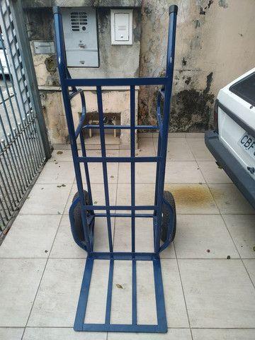 Carrinho de mão carga transporte 500 kilos kg