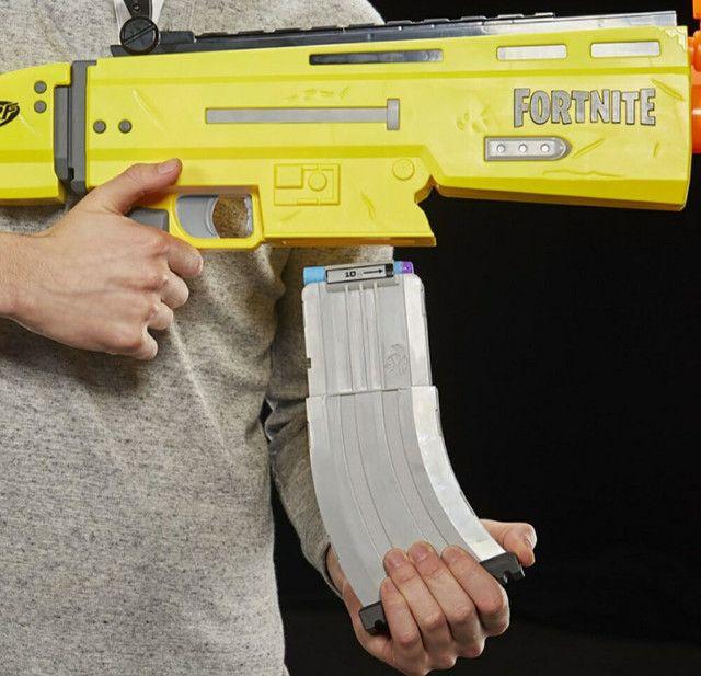 Lançador De Dardos Motorizado Hasbro Nerf Fortnite Ar-l - Foto 5