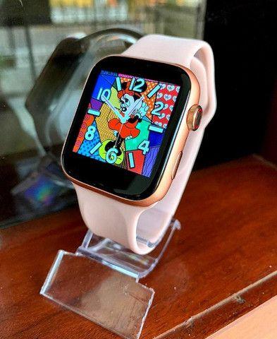 Relógio Smartwatch IWO X7 Faz Ligaçao Passos/Batimentos/Face/Whats - Foto 6