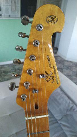 Guitarra SX Bege Vintage - Só Venda! - Foto 5