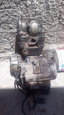 Motor de xt 225 troco por bota de trilha  - Foto 3