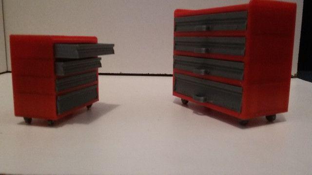 Miniatura carrinho armario 1:18 - Foto 3