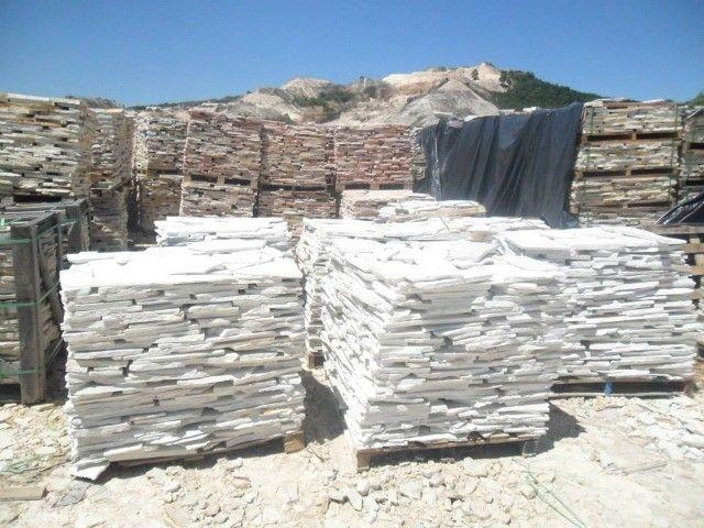 Caco de Pedra São Tomé Branco Irregular - Foto 2