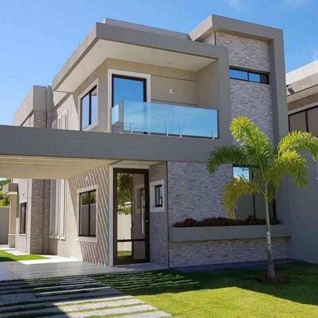 Casa com piscina em rua privativa, casa nova nunca habitada #ce11 - Foto 9