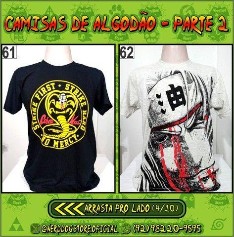 Camisas Geek Nerd Gamer Otaku - NerdDog Store - Naruto, Dragonball, One Piece, etc - Foto 4