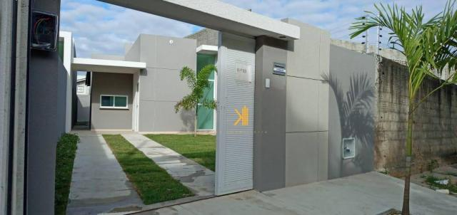 Casa com 3 dormitórios sendo 2 suítes à venda, 88 m² por R$ 219.000 - Timbu - Eusébio/CE - Foto 10