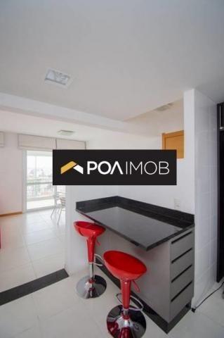 Apartamento com 3 dormitórios para alugar, 93 m² por R$ 3.900,00/mês - Jardim Europa - Por - Foto 11