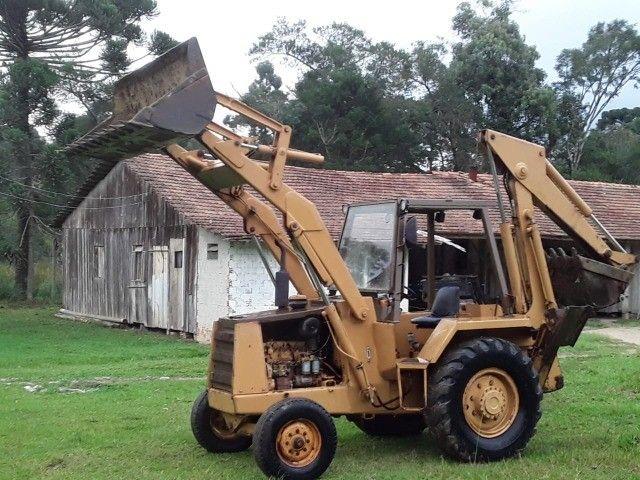 Retro escavadeira Case 580H - Foto 2