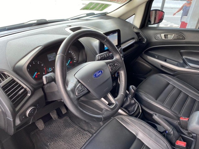 Ford EcoSport  se 1.,5 preta flex 2018 com multimidia - Foto 11