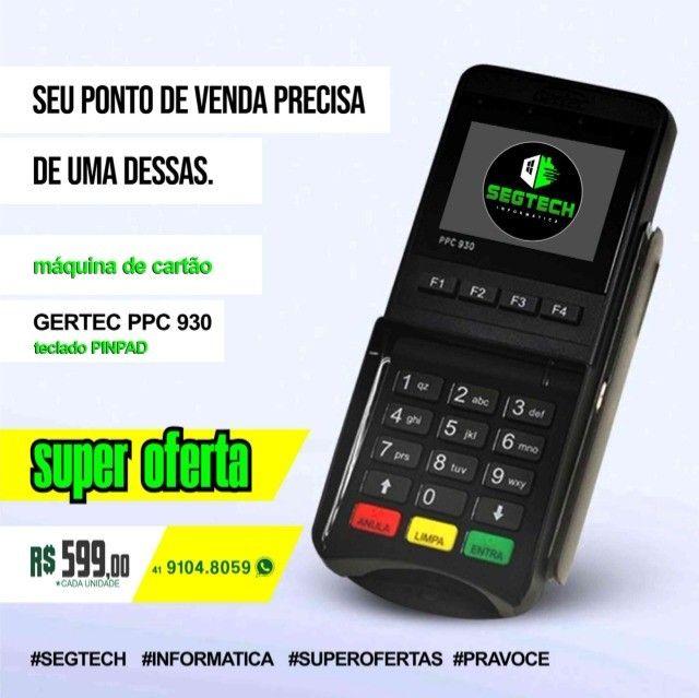 Pinpad Gertec Ppc 930 Com Entrada Usb E Serial !!!! Super Promoção!!!