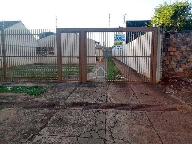 Casa com 2 dormitórios para alugar, 50 m² por R$ 700,00/mês - Piratininga - Campo Grande/M