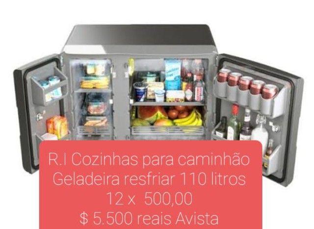 Geladeira 110 litros resfriar  - Foto 3