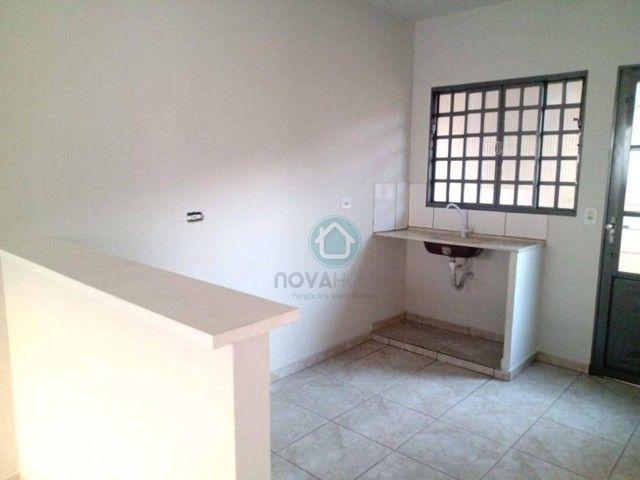 Casa com 2 dormitórios para alugar, 50 m² por R$ 700,00/mês - Piratininga - Campo Grande/M - Foto 6