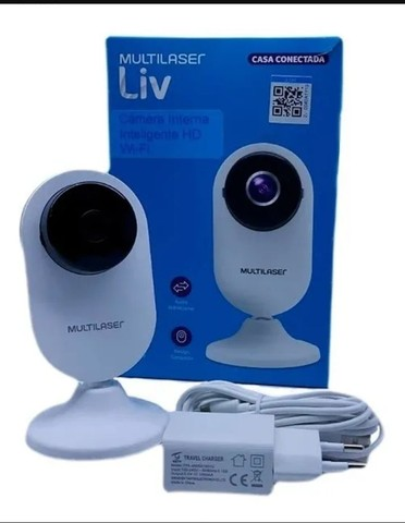 Câmera de Segurânça Wi-fi Acesso Remoto Via Celular - Foto 4
