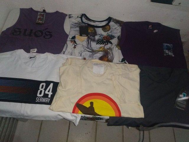 Vendo camisas e camisetas de marca original - Foto 2