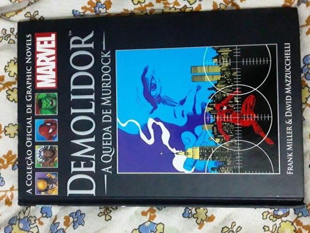 Coleção graphic novels Demolidor A queda de mudock - Foto 2