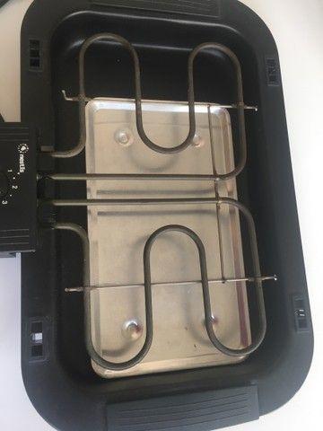 Churrasqueira elétrica 110v  - Foto 3