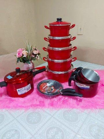 Kit cozinha completo 12 peças por $340 avista - Foto 4