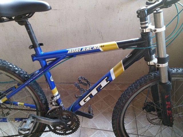 Vendo bike com amortecedor freio a disco - Foto 3