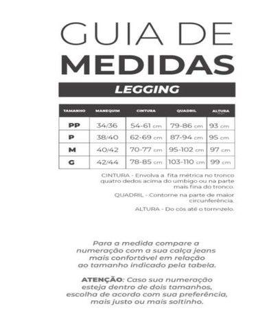 Calça Legging Suplex Power (excelente Tecido) Academia ou dia a dia - Foto 5