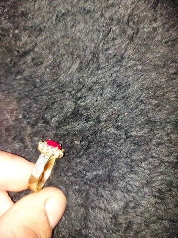 Vendo anel de ouro 18k - Foto 3