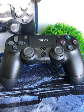 Controle PS4 sem fio inova (Lojas WiKi) - Foto 2
