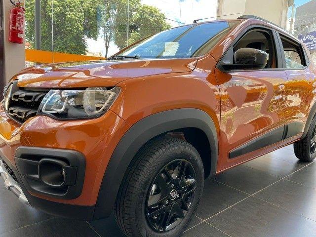 Renault kwid 21/22- Outsider- R$ 56.990,00 - 0 Km!!! Emplacado!!! - Foto 6