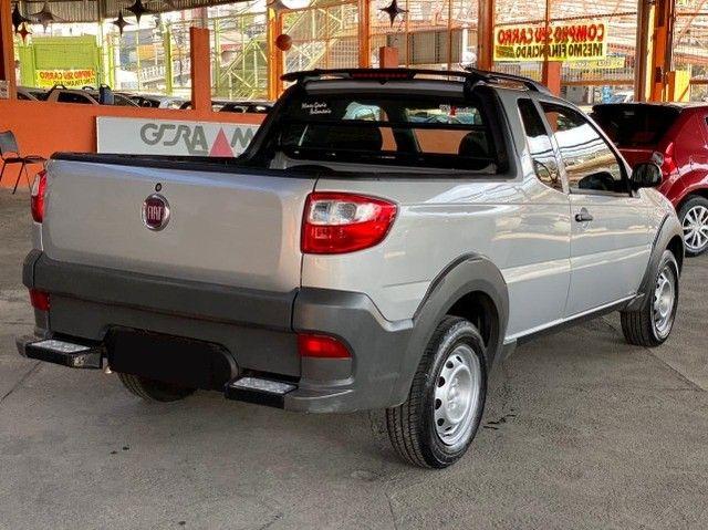 Fiat Strada Cab. Est. 1.4 8v Hard Working 1.4 Completa - Foto 7