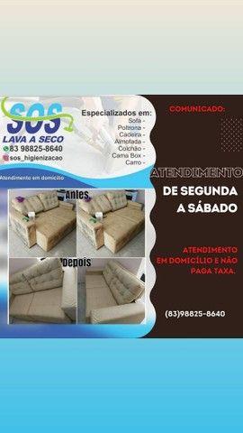 SOS HIGIENIZAÇÃO A SECO /GARANTIMOS O SERVIÇO PREÇO BAIXOU / BORA APROVEITAR - Foto 2