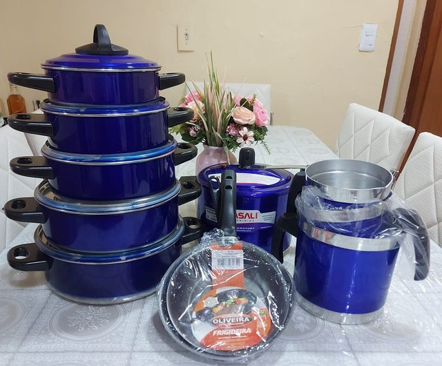 Kit cozinha completo 12 peças por $340 avista - Foto 3