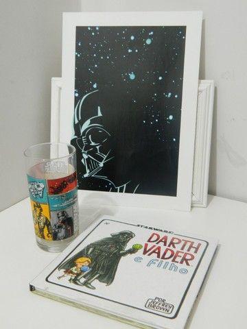 """Livro Ilustrativo """"Darth Vader e Filho"""" + Copo Star Wars - Foto 2"""