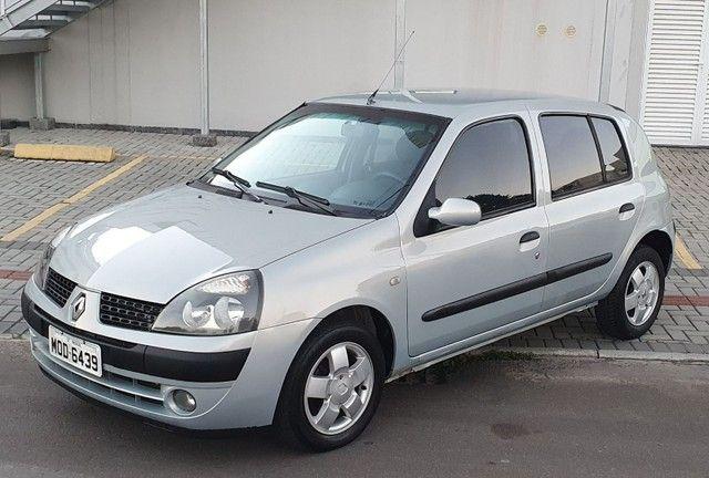 Clio 1.0 Privilégie 2004 Completo!!!